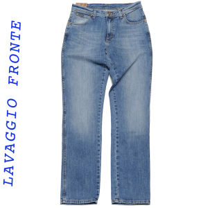 Wrangler jeans texas stretch lavaggio trucker blue