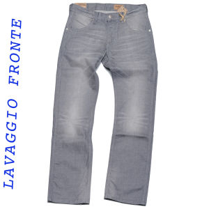 Wrangler jeans ace wash gris foncé