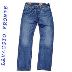 Wrangler jeans manivelle ligne bleue