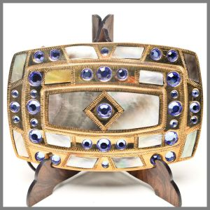 Johnson & Held 0879 buckle with stones