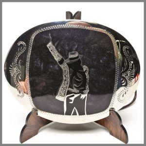 Johnson & Held custom buckle michael jackson tribu