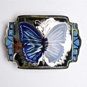 Johnson & Held custom buckle # 40 butterfly