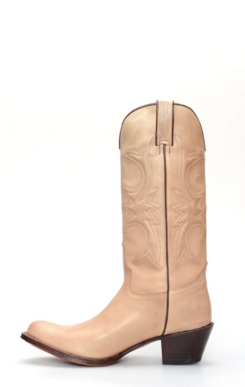 5e886494b5d Tony Mora boots in light brushed leather   TM002660