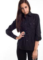Camicia western Rockmount donna  7498 nera