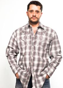 Gray Rockmount western shirt
