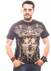 T-Shirt Liberty wear cross & banner