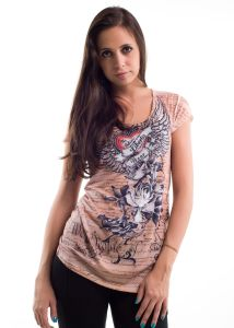 Liberty wear leadies t-shirts 7426 sublimation