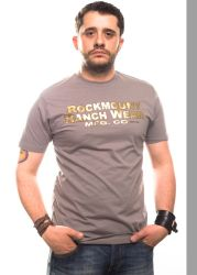 Rockmount t-shirt vintage gold