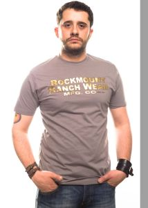 Rockmount t-shirt 700 vintage gold