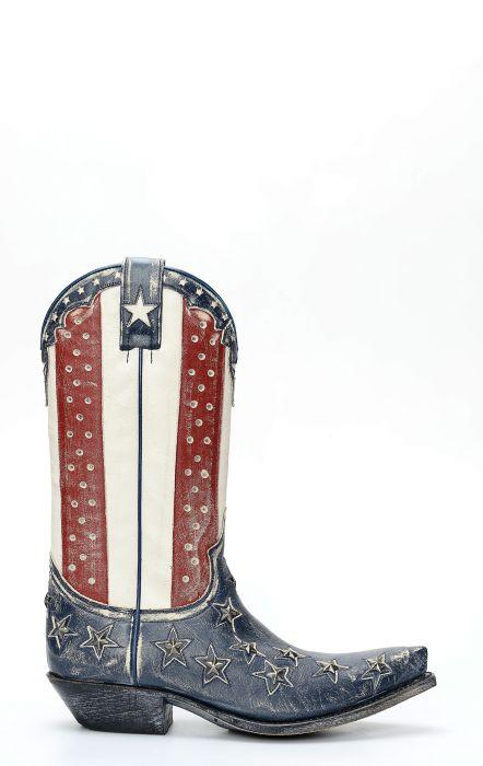 Sendra bottes USA flag style