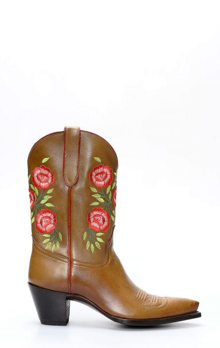 Stivali Texani della collezione Pineda Covalin marroni