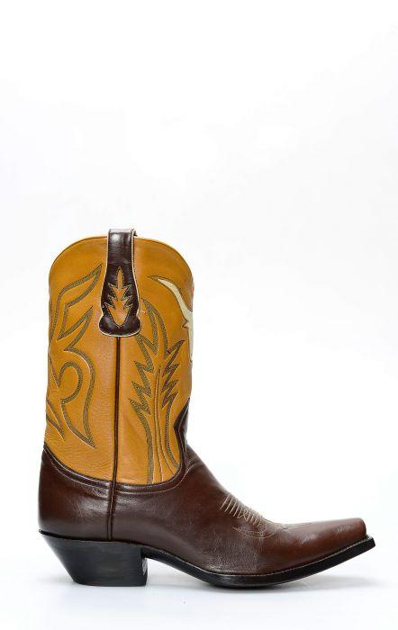 Stivali Texani Liberty Boots con inserto