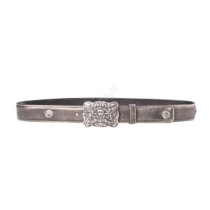 Cintura Liberty Black reata hueso