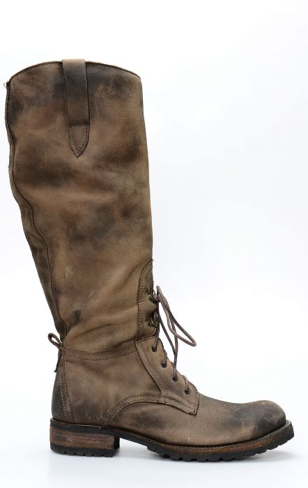 Camperos Liberty Black dark brown boots