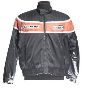 JKWork jacket black with orange band