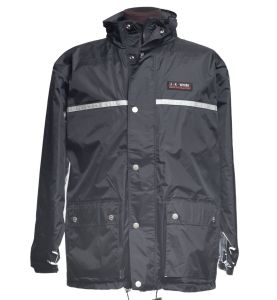Dark gray JKWork raincoat