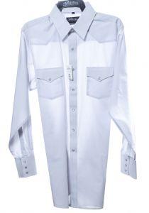 Camicia western by white horse grigia