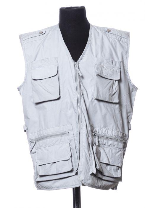 Gray tactile vest