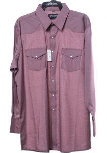 Western shirt by white horse burgundy