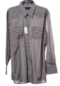 Camicia western by white horse khaky