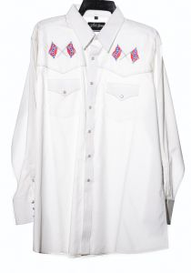 Camicia western by white horse southern
