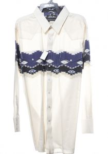 Western shirt by Aztec white horse